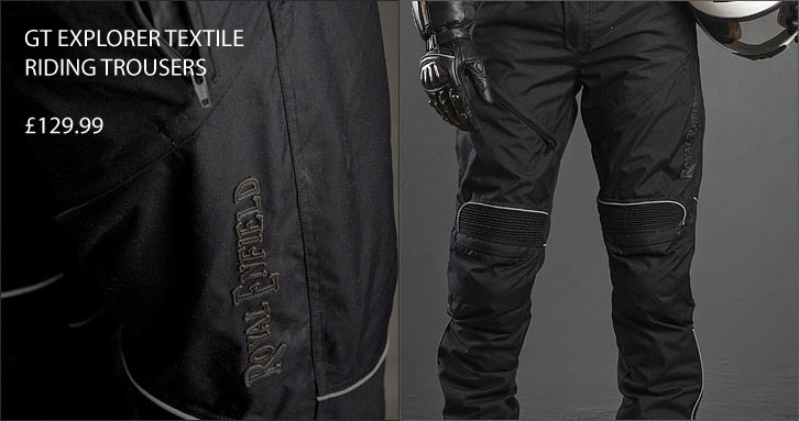 GT Explorer Textile Riding Trousers