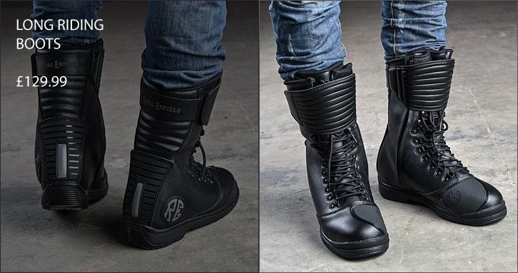 Royal Enfield Long Riding Boots