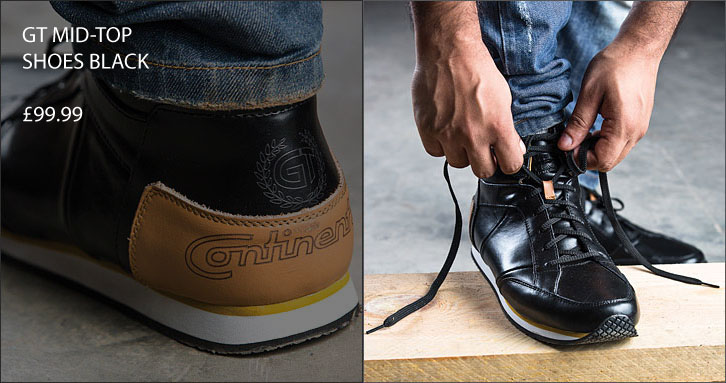 GT Mid-Top Shoes Black