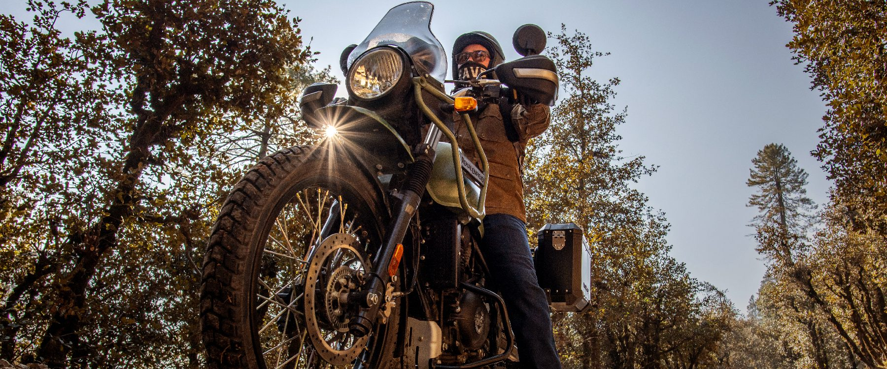 Royal Enfield Himalayan: Rugged, all-terrain adventure bike with a stripped-back design