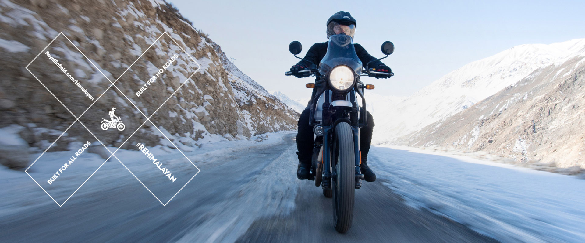Through the ice and snow with the Royal Enfield Himalayan