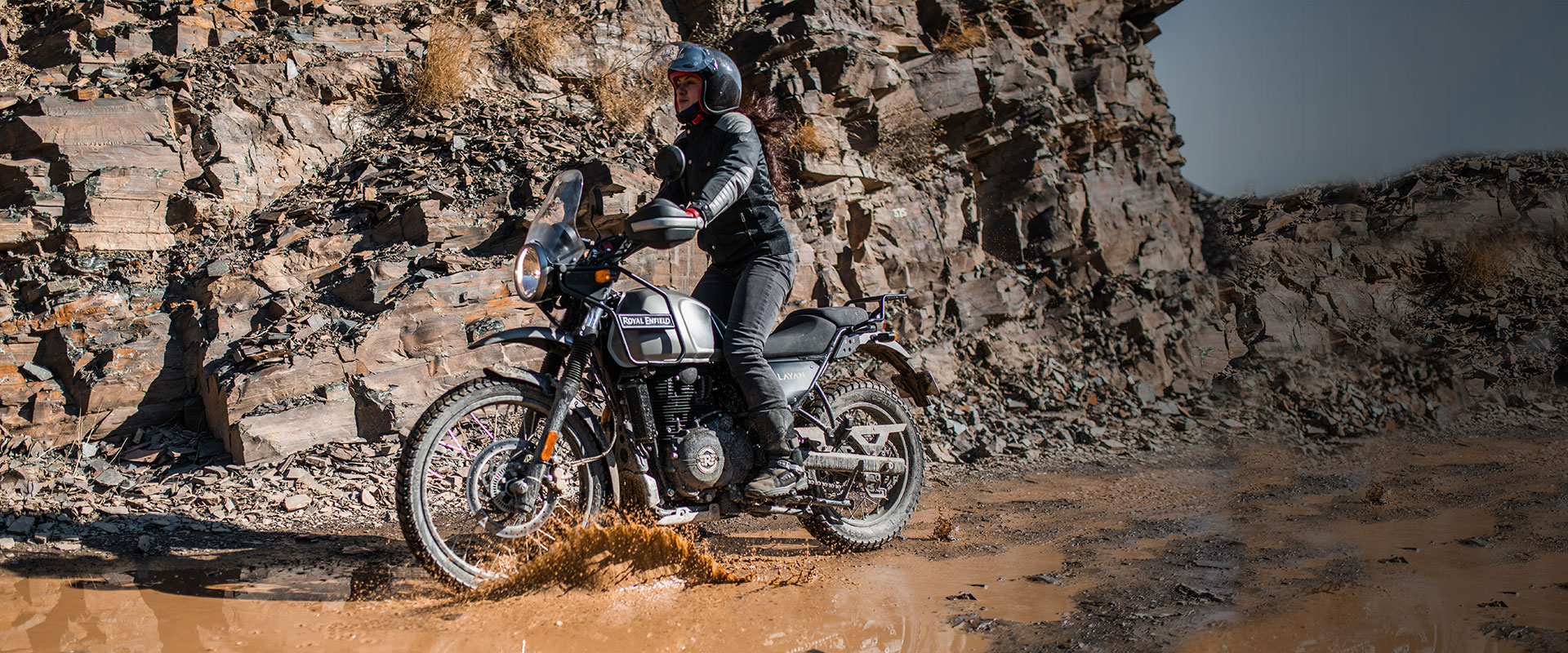 Off road with the Royal Enfield Himalayan