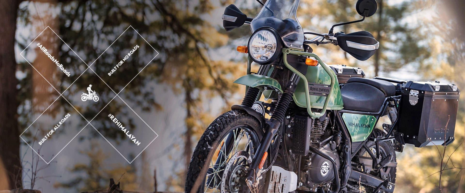 Royal Enfield Himalayan adventure bike