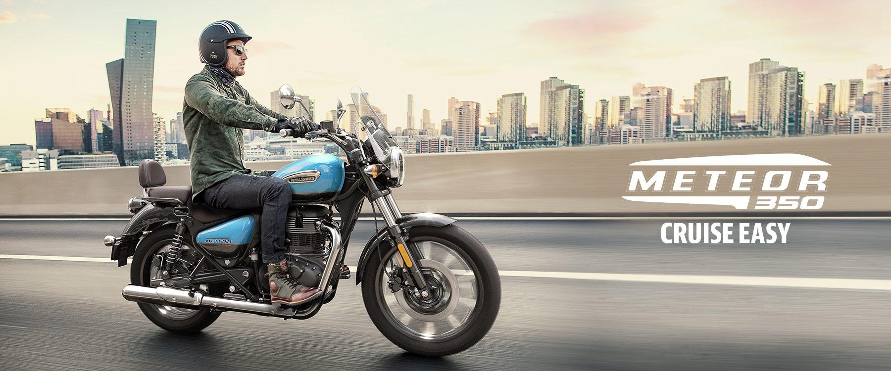 New Royal Enfield Meteor 350 Motorbike
